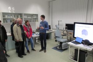 Open doors at Ilmenau University of Technology, Germany